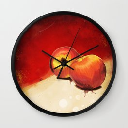 Adam's Apple Wall Clock