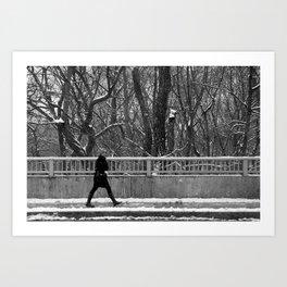 rosedale valley walk Art Print