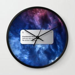 PRESIDENTIAL ALERT Wall Clock