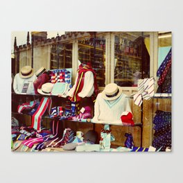 Cambridge Shop Canvas Print