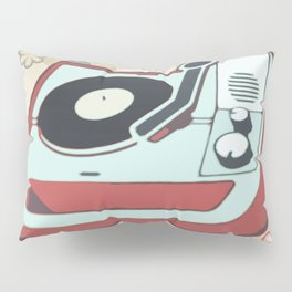 Retro Vinyl Pillow Sham