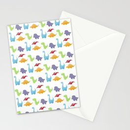 Dinosaur Pattern Stationery Cards
