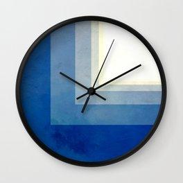 Square Sun Wall Clock