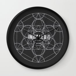 """""""Origin of Symmetry""""- Muse Wall Clock"""