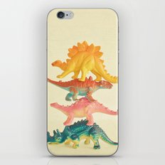 Dinosaur Antics iPhone Skin