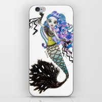 monster high iPhone & iPod Skins featuring Sirena Von Boo - Monster High by Amana HB