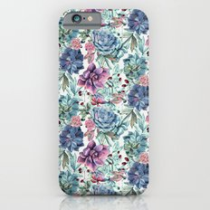 Succulent Pattern Slim Case iPhone 6s