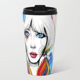 Zooey - Twisted Celebrity Watercolor Travel Mug