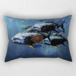YELLOWFIN TUNA Rectangular Pillow