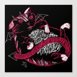 Fat Cat (Devil) Canvas Print