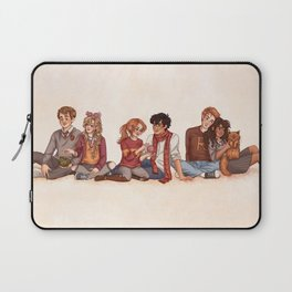 The Golden and the Silver Trio Laptop Sleeve
