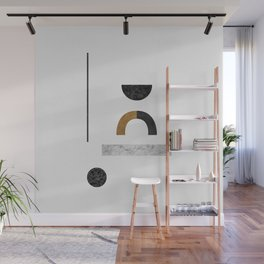 Abstract Geometric III, Modern Artwork Wall Mural