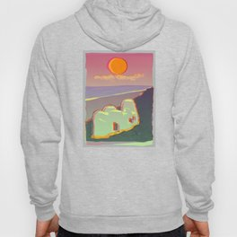 Red Moon Summer Vibrations Hoody