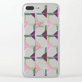 Ultra Deco 4 #society6 #ultraviolet #artdeco Clear iPhone Case