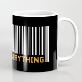 Scan Everything Amazonian Barcode - Party Code Coffee Mug