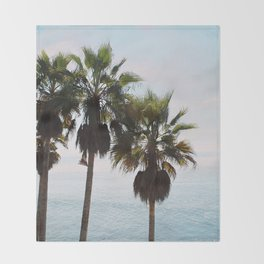 Laguna Palms Throw Blanket