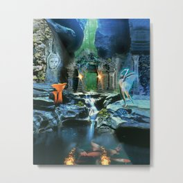 The Under Earth Metal Print