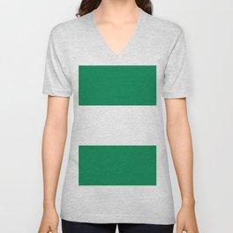 Flag of Nigeria Unisex V-Neck