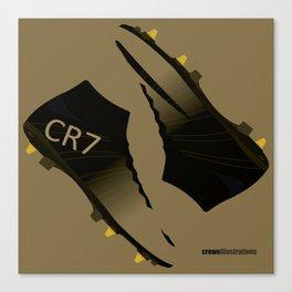 Rare Gold CR7 Canvas Print