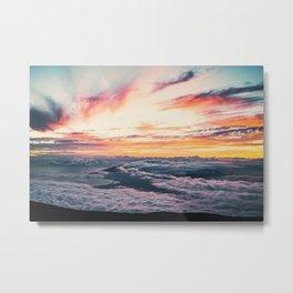 sunset above Hawaii #society6 #decor #buyart Metal Print