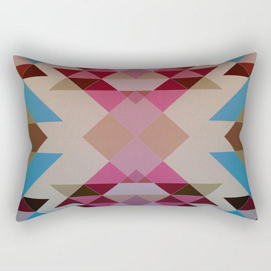 Abstract geometric I Rectangular Pillow