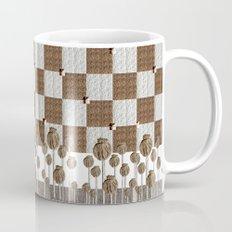 Poppy seed pods in neutral Mug