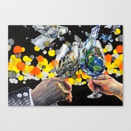 A Toast Canvas Print
