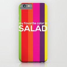 My favorite color is salad iPhone 6s Slim Case
