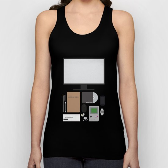 Awesome stuff. Unisex Tank Top