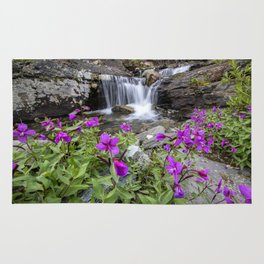 Secluded Waterfall Rug