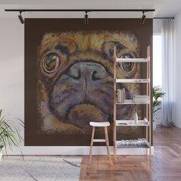 PUG DOG ART - Pug Lover Wall Mural