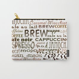 Coffee - In So Many Words Carry-All Pouch