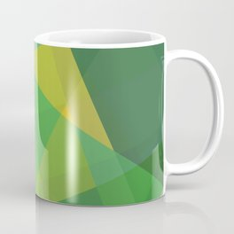 Polygon print bright colors #society6 #decor #buyart #artprint Coffee Mug