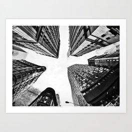 Subtle City Art Print