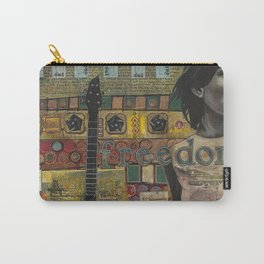 Freedom Girl  with Guitar Carry-All Pouch