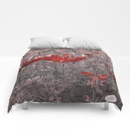 Wild Flowerbed 2 Comforters