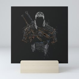 Geralt of Rivia - The Witcher Mini Art Print