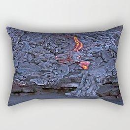 Kilauea Volcano Lava Flow. 2 Rectangular Pillow