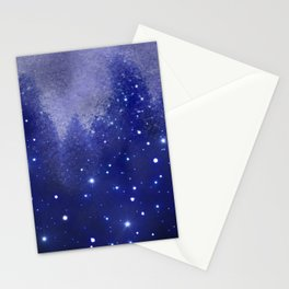 Star Kissed Wind Stationery Cards