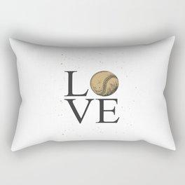 I love baseball design style | for baseball lovers Rectangular Pillow