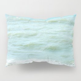 frothy surf (thank you, moon) Pillow Sham