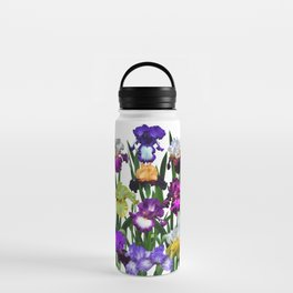 Iris garden Water Bottle