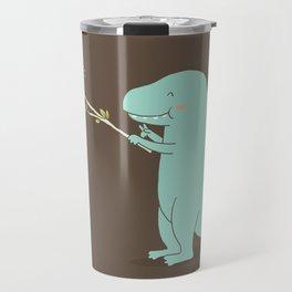 Selfie T-Rex Travel Mug