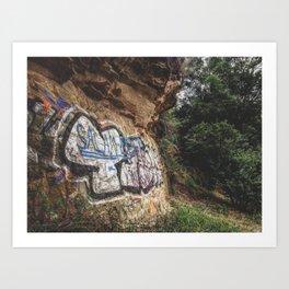 Cluj Graffiti #3 Art Print