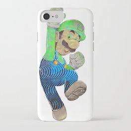 Pop Art Luigi iPhone Case