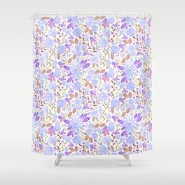 New Lav Girl Shower Curtain