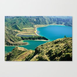 Lagoa do Fogo Canvas Print