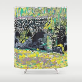 Brug Shower Curtain