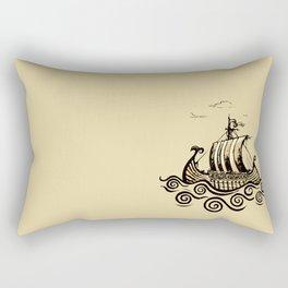 Viking ship 2 Rectangular Pillow