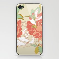 garden party iPhone & iPod Skin